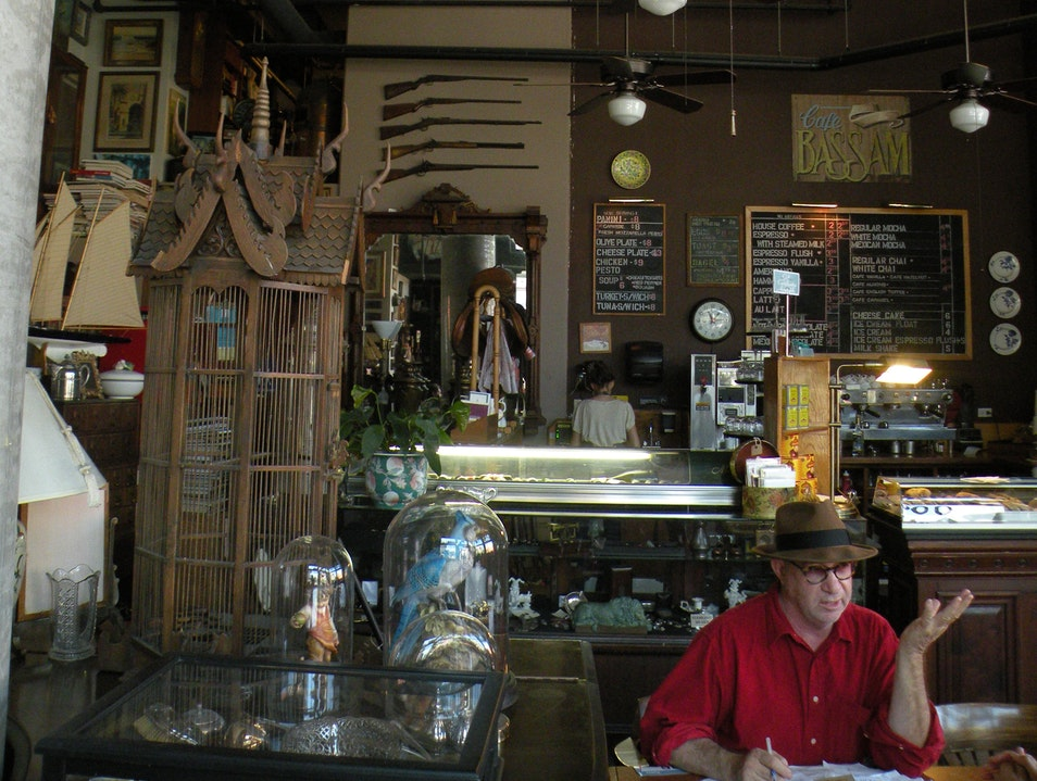 Magical Cafe on 5th Avenue in San Diego