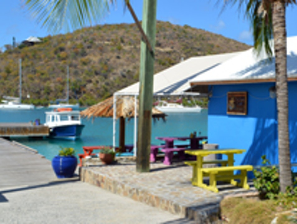 Spice Things up with Judy's Hot Sauce at the Fat Virgin's Café Virgin Gorda  British Virgin Islands