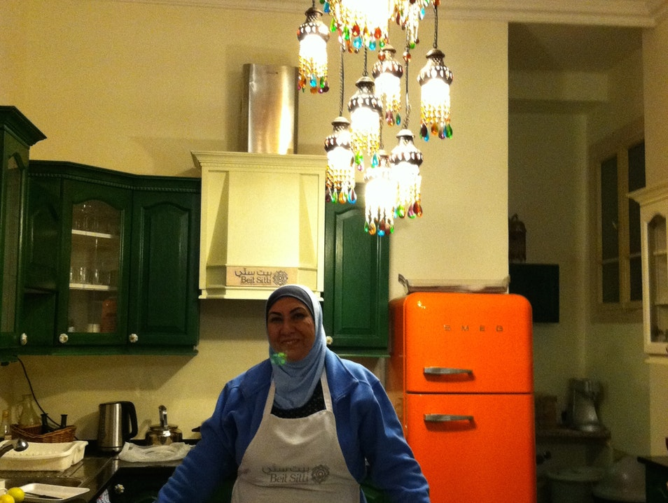 """Best Meal in Jordan, Cooked """"By Myself"""" at Beit Sitti"""