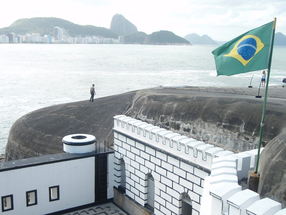 Historic Fort and Museum with Great Views Rio De Janeiro  Brazil