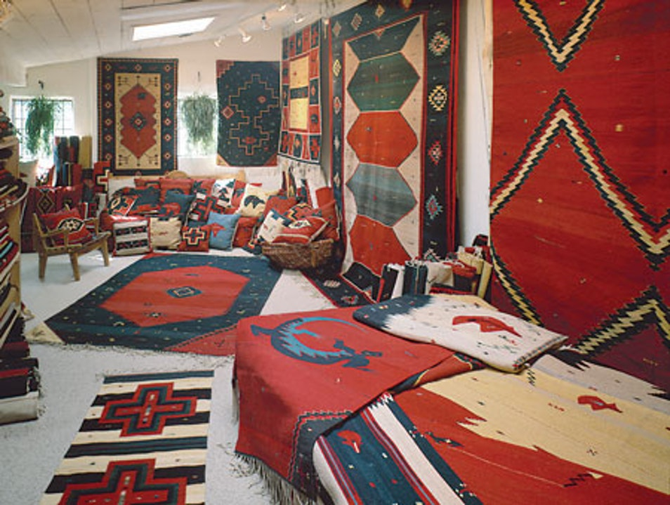 Zapotec Indian Rugs and Weaves Taos New Mexico United States