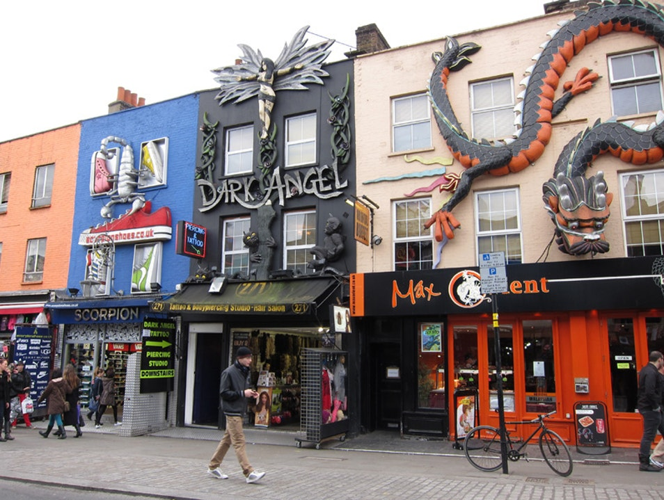 Go to Camden High Street for shopping and people-watching London  United Kingdom