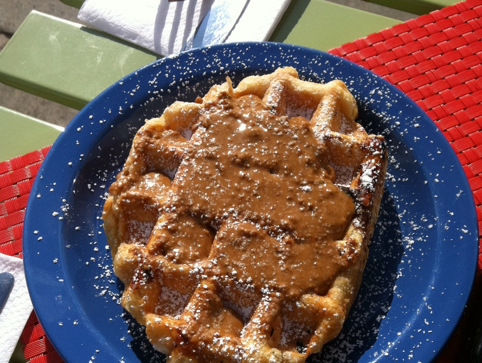 Gourmet Waffles in LA Los Angeles California United States