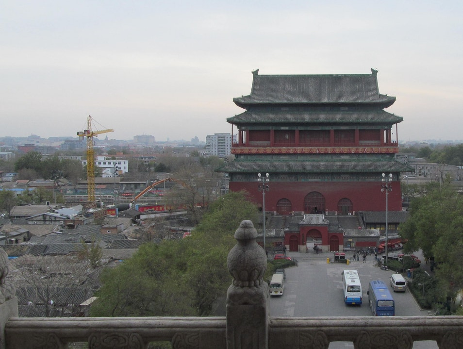 The Bell and Drum Towers Beijing  China