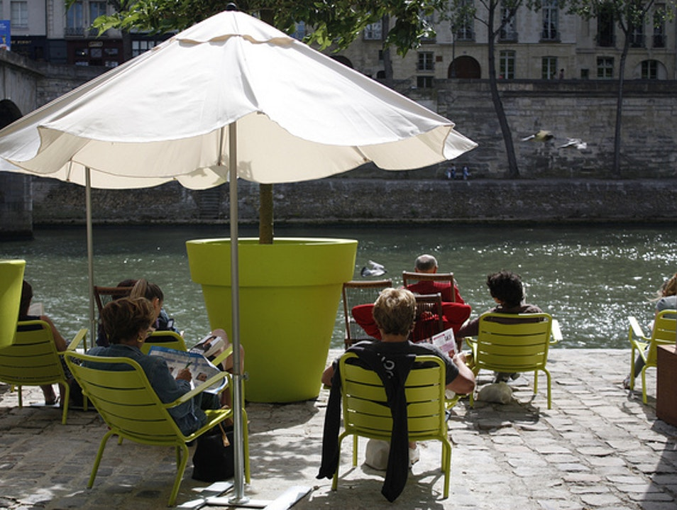 Paris Plage: a Seine-Side Getaway  Paris  France
