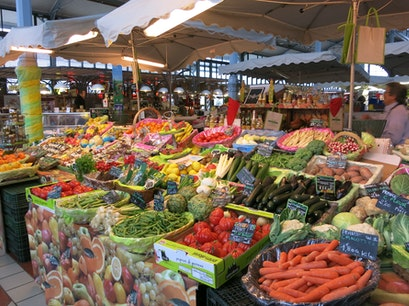 Covered Market Angoulême  France