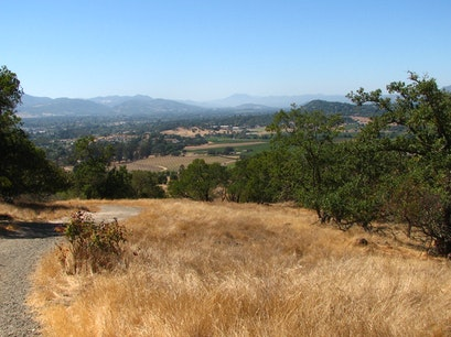 Biking Local Hills and Highway 128 Napa California United States