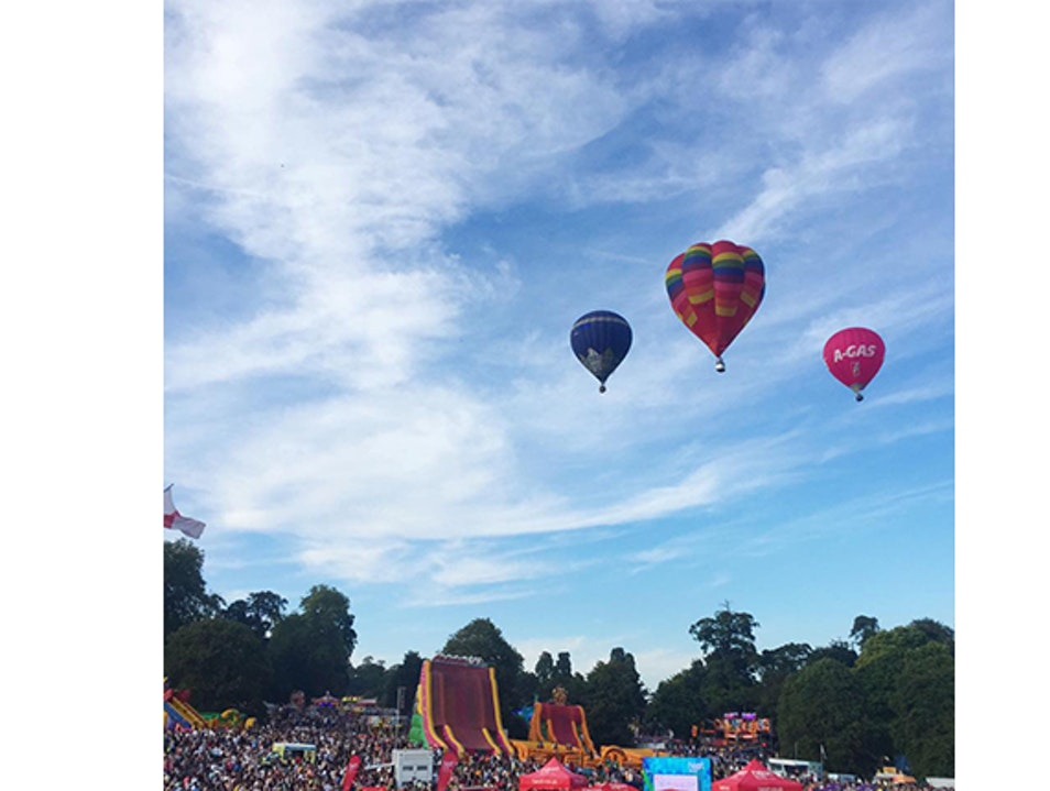 Bristol International Balloon Fiesta Leigh Woods  United Kingdom