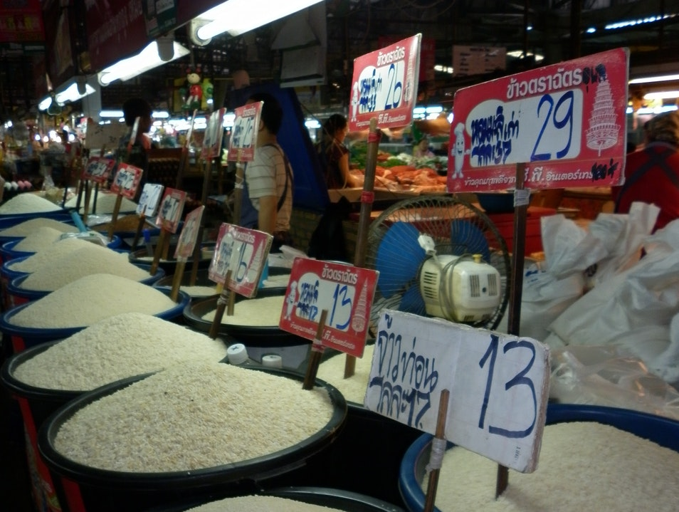 A Market Full of Rice