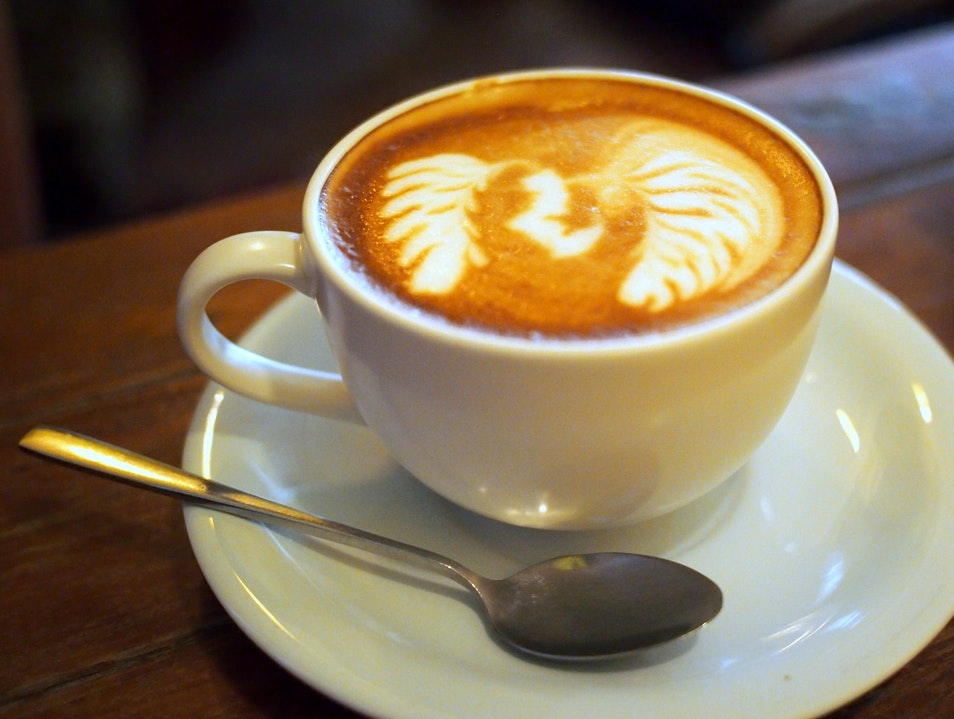 Fair trade coffee made with love and care
