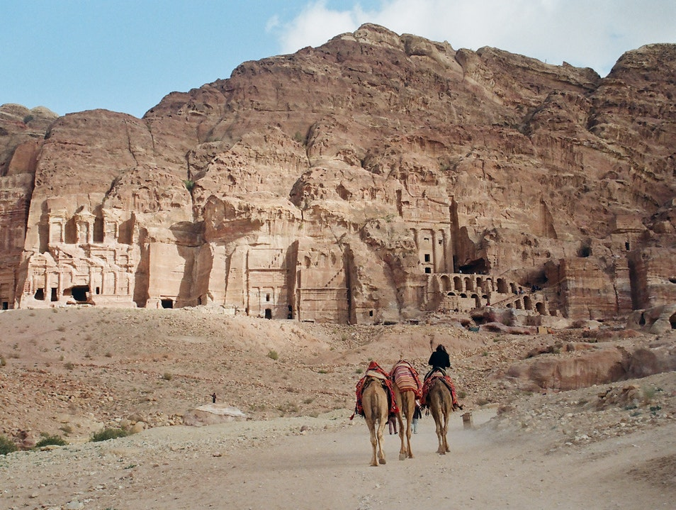 Wandering the Far Reaches of the Rose-Red City Ma'an  Jordan