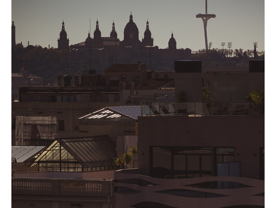 View from the amazing Casa Mila ::: Winter, 2012