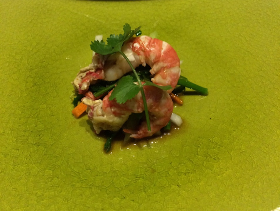 Spot Prawn Sushi in Vancouver  Vancouver  Canada