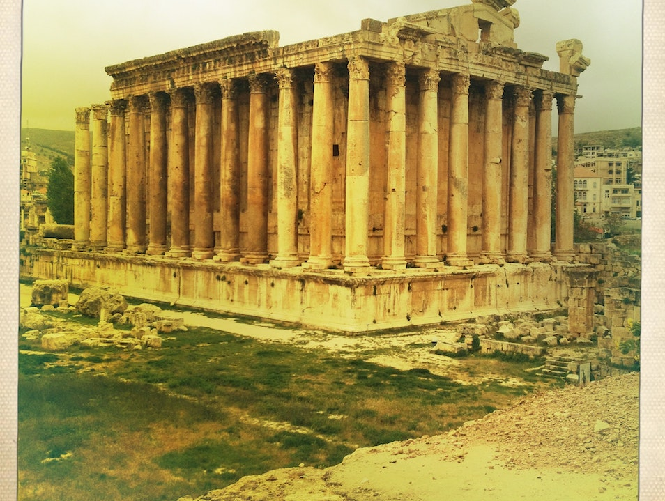 The Most Impressive Roman Ruins in the Middle East Baalbek  Lebanon