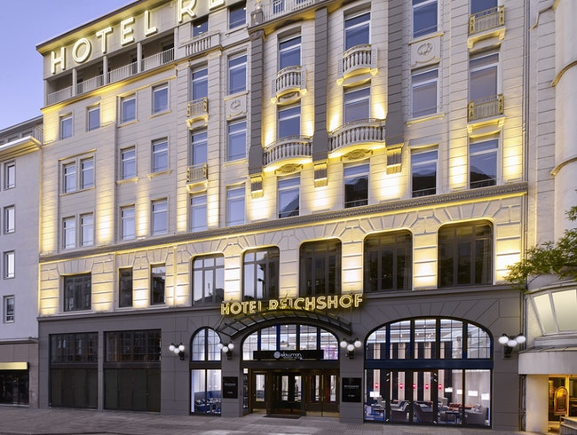 Hotel Reichshof – the grande dame of Hamburg