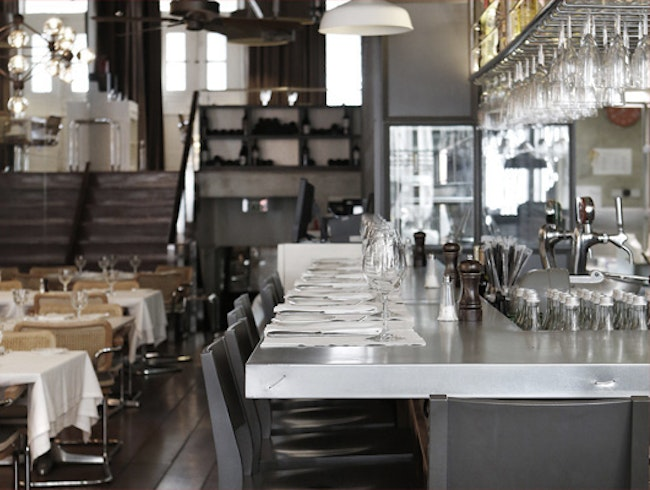 A cool and fashion atmosphere pairing with an exquisite and imaginative cuisine