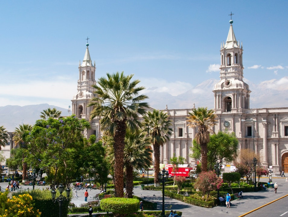 Cathedral of Arequipa Arequipa  Peru