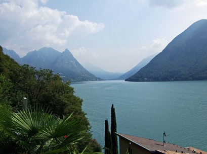 Lake Lugano, Switzerland Paradiso  Switzerland