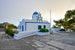 Mountain church Oia  Greece