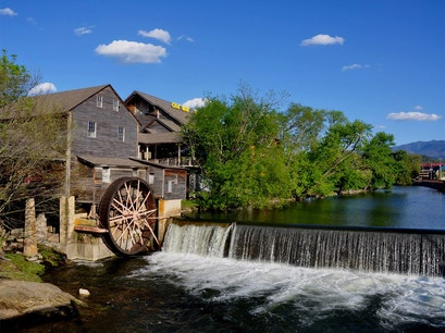 The Old Mill Pigeon Forge Tennessee United States
