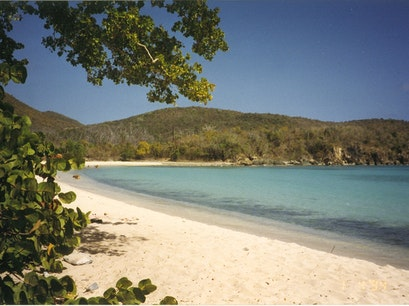 Lameshur Bay Beach St. John  United States Virgin Islands