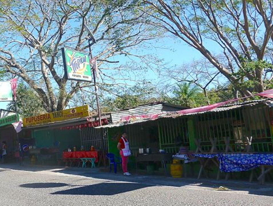 Women owned street food: Pupuserias Olocuilta  El Salvador