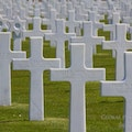 Normandy American Memorial Cemetery Colleville-sur-Mer  France