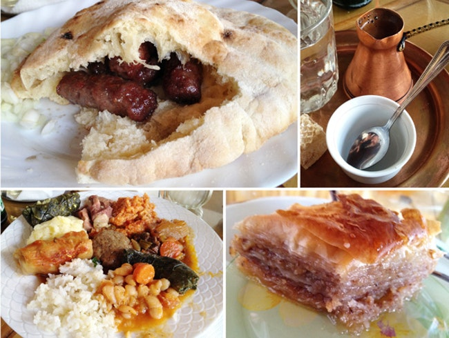 Sample the Food of Bosnia Herzegovina in Mostar