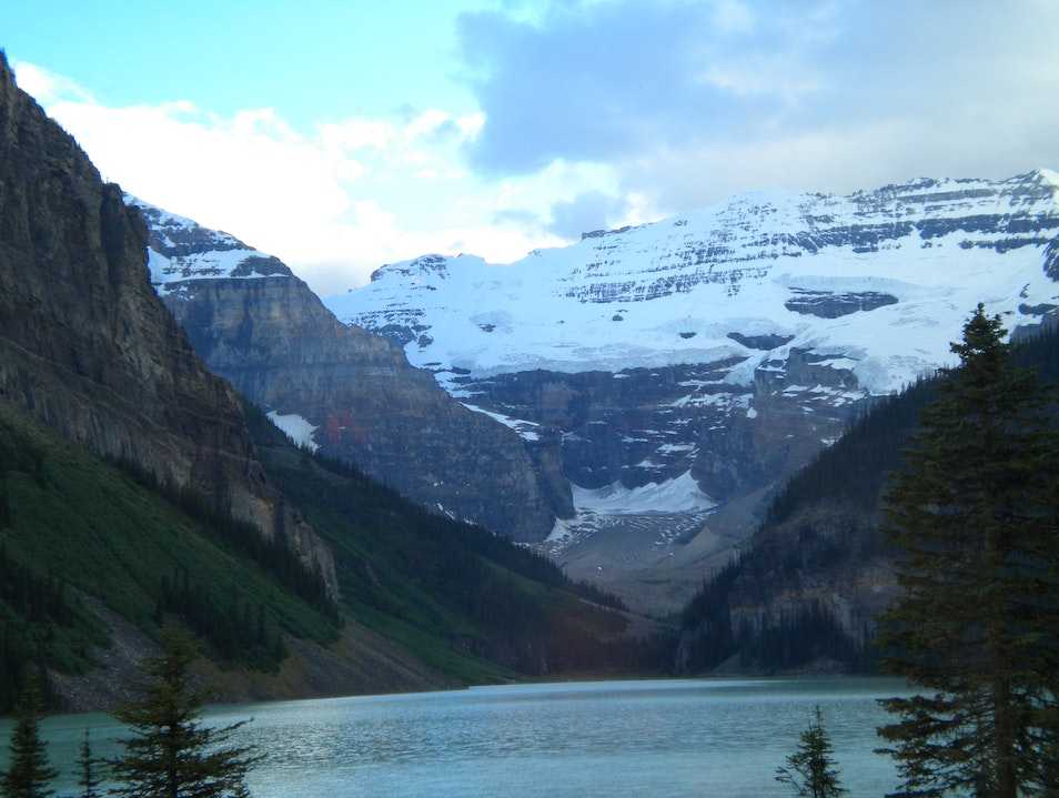 Too Cold to Kayak Lake Louise  Canada