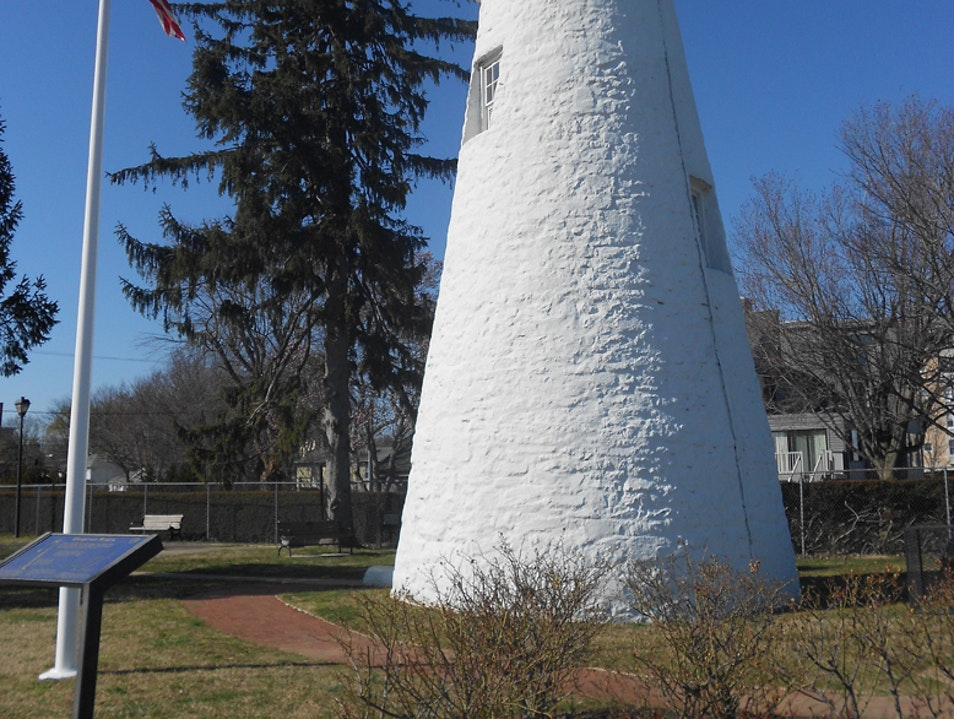 The lighthouse on the Chesapeake
