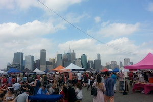 Smorgasburg on Brooklyn Bridge Park Pier 5