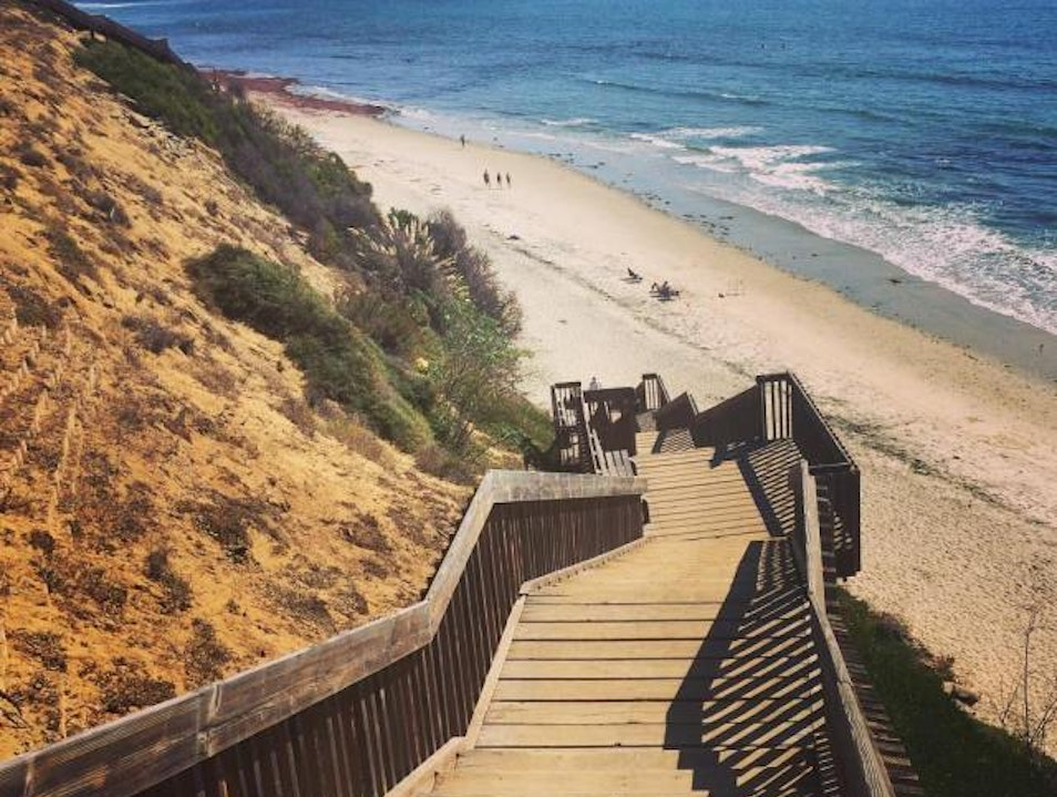 Cardiff-by-the-Sea and Encinitas Beaches