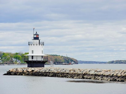 Spring Point Ledge Lighthouse South Portland Maine United States