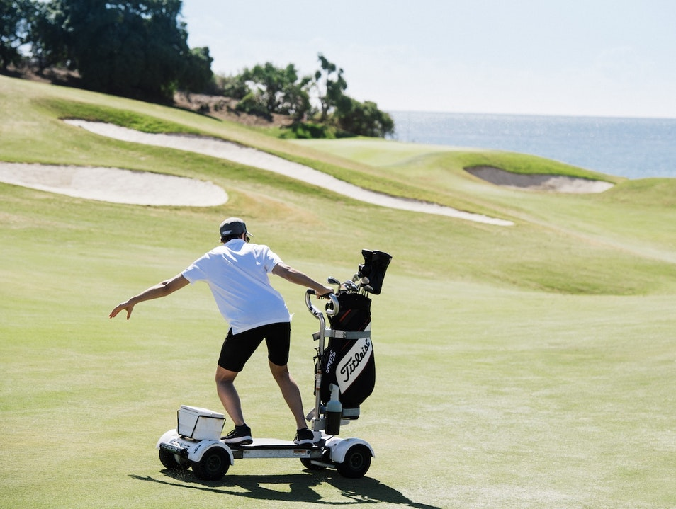 Surf on a Golfboard Dana Point California United States