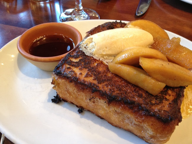 Sunday Brunch (And Custard French Toast) at Nopa