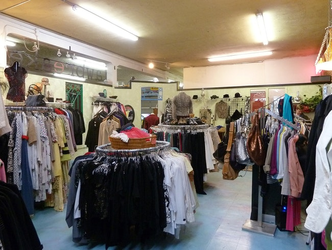 Consignment Clothes and Cake Pops