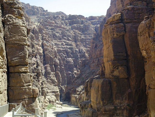 Get Wet and Wild at Wadi Mujib