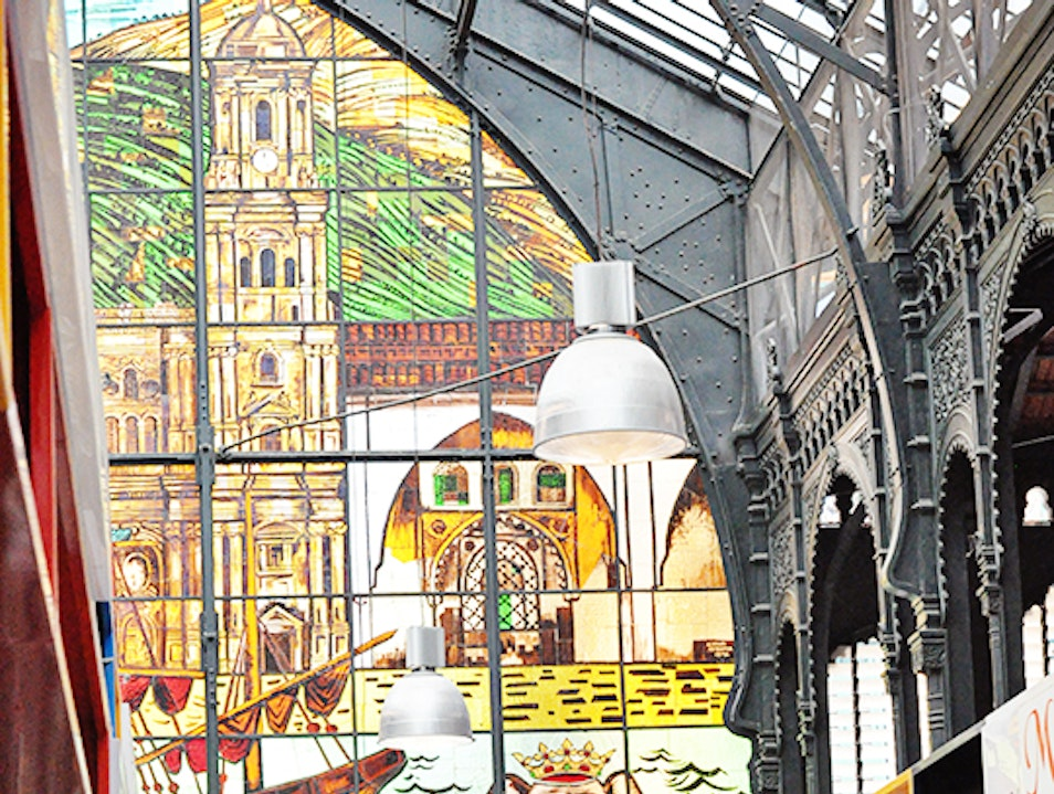 Visiting Málaga's Central Market Malaga  Spain