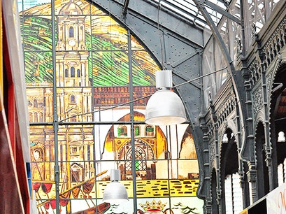 Mercado Central de Atarazanas Malaga  Spain