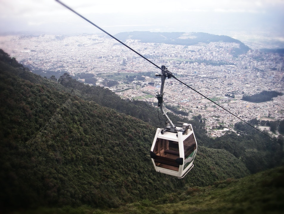 Ride One of the World's Highest Cable Cars Quito  Ecuador
