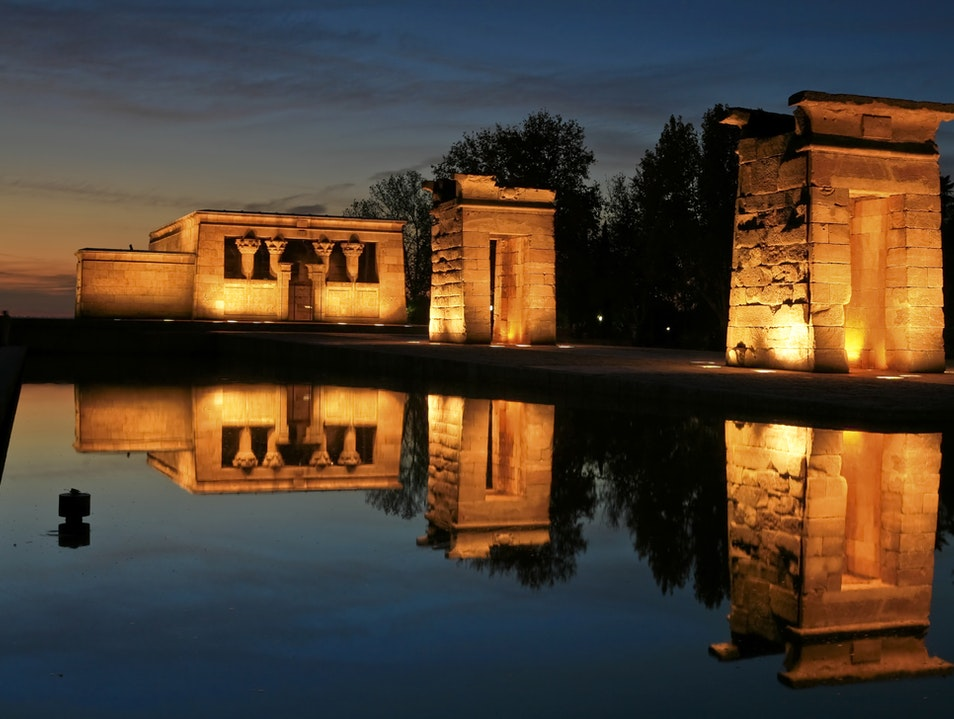 Ancient Egyptian Temple Moves to Madrid Madrid  Spain