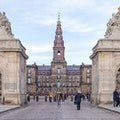 Christiansborg Palace Tower Copenhagen  Denmark