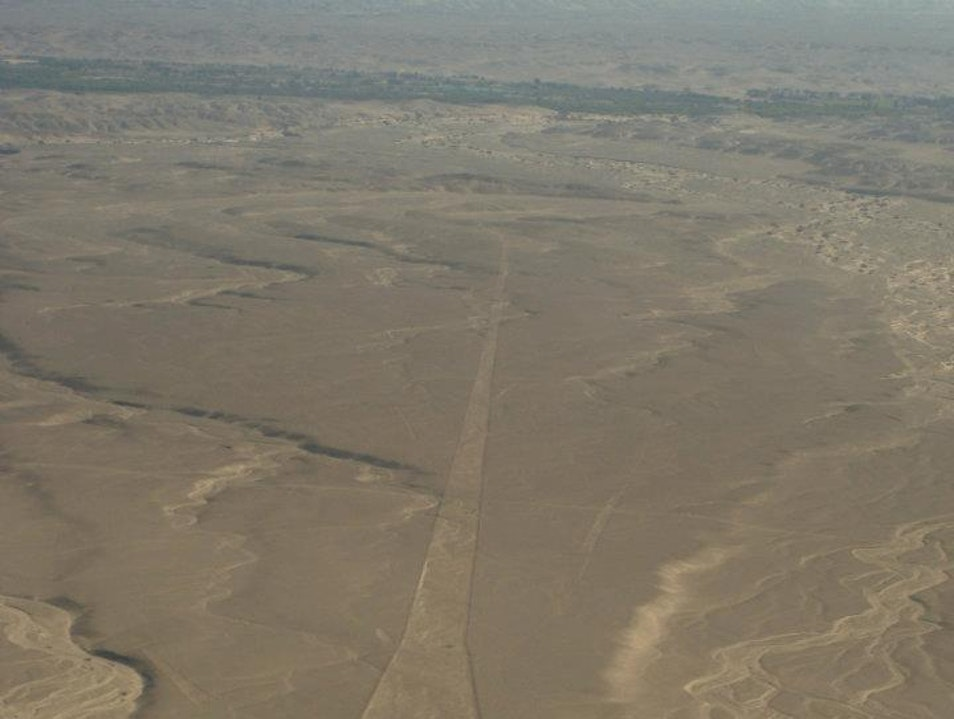 To infinity and beyond Nasca  Peru