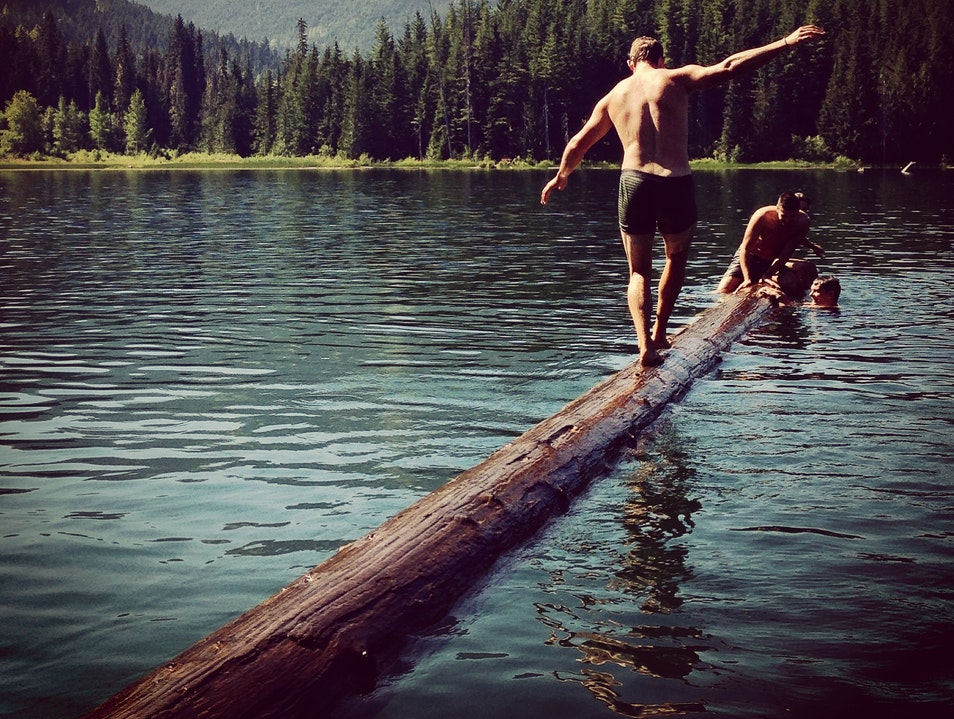Cool Down in Lost Lake