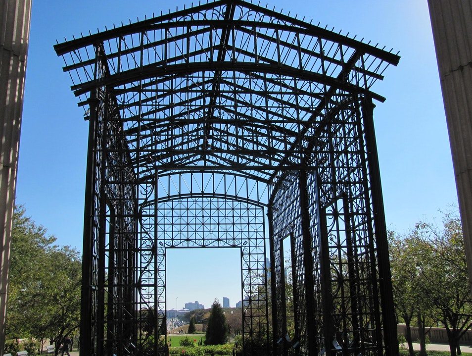 Arbor? Sculture? Gate? Chicago Illinois United States