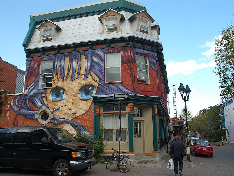Stroll Through Montreal's Bohemian Plateau District Montreal  Canada