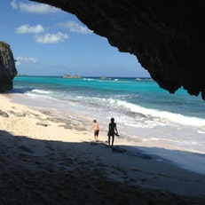 Secret Cave and Secret Beach