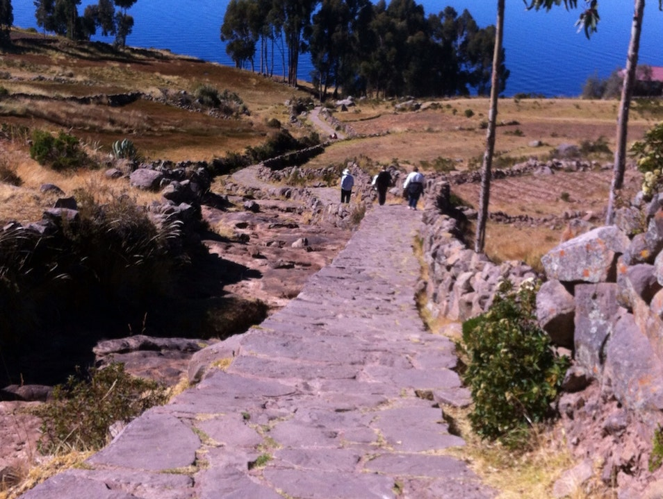 The Road Up Puno  Peru
