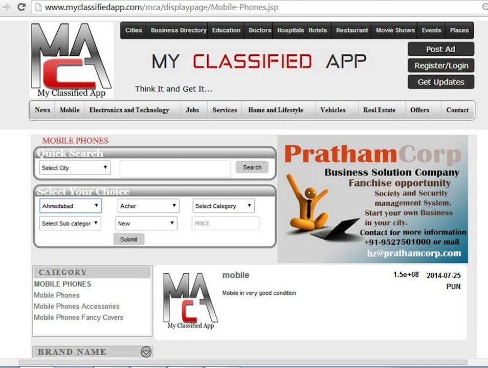 Free Classifieds Free Advertising Pune  India