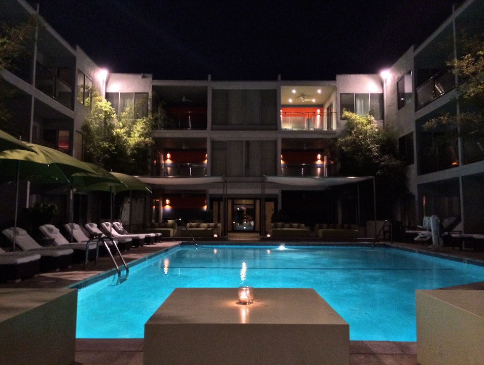 The Not-So-Secret Sunset Marquis West Hollywood California United States